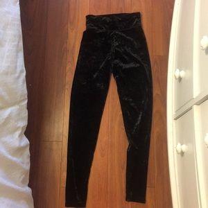 Velvet aerie leggings